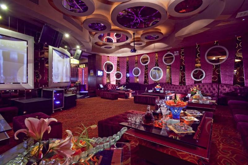 Không gian bên trong tại Quán Karaoke VIP