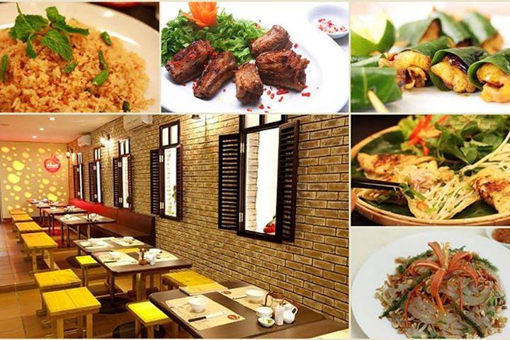 Các món ăn tại Quán Khoái