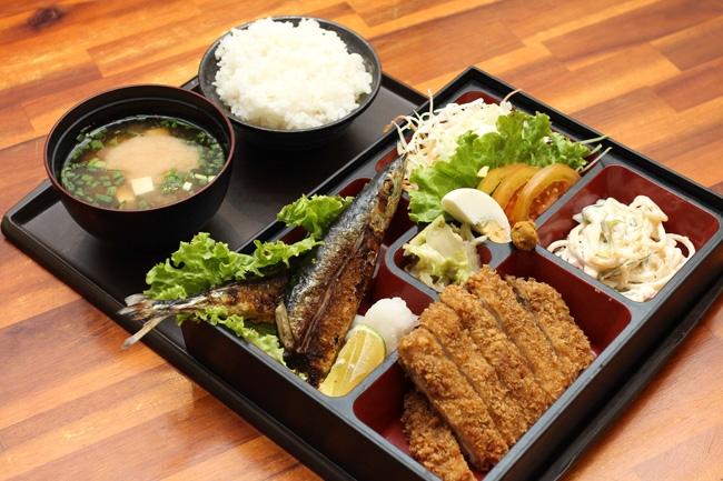 Suất cơm Nhật của Kita Guni