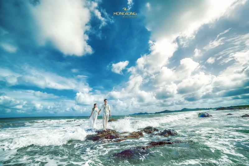 Chụp ảnh cưới tại Đảo Minh Châu