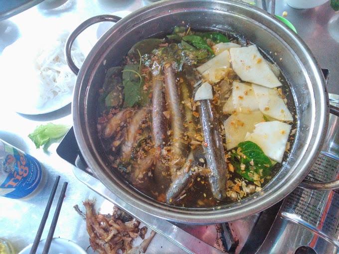 Quán Thanh Mai nổi tiếng với món lẩu cá kèo