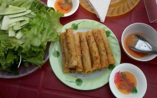 Ngoài mì Quảng, món ram cũng rất được ưa thích
