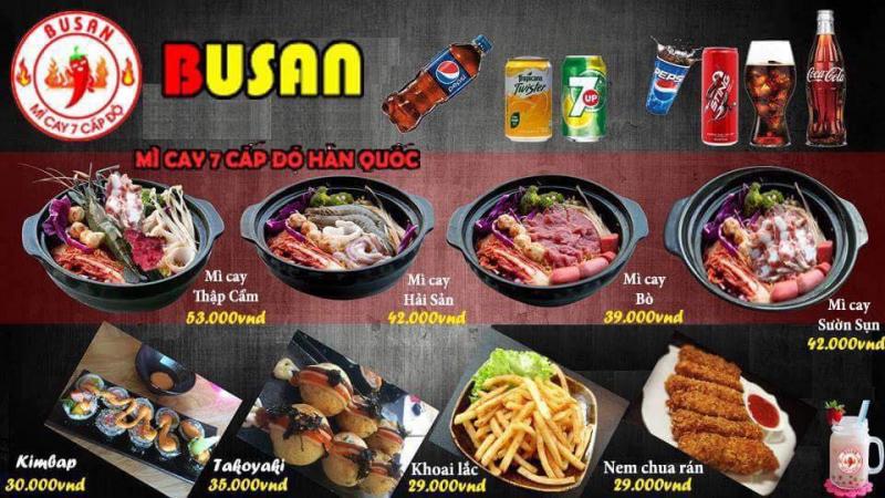 Quán mỳ cay Busan