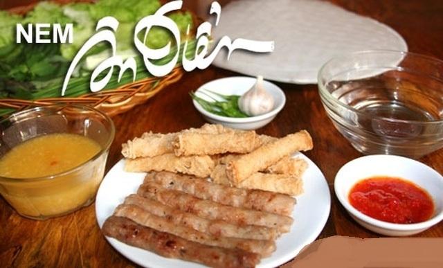 Quán Nem nướng Ân Điển là một quán bán nem nướng ngon ở Sài Gòn được giới trẻ yêu thích
