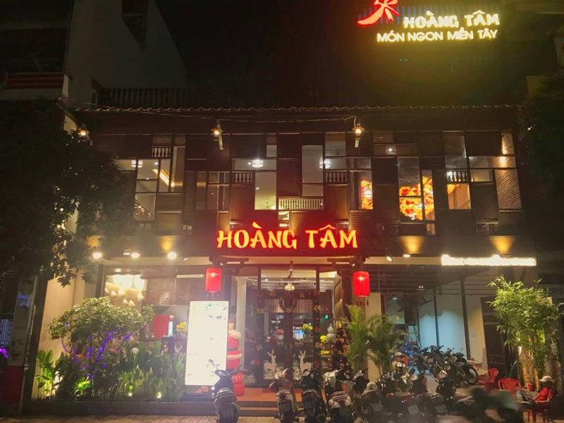 Nem nướng Hoàng Tâm là quán bán nem nướng ngon ở Sài Gòn được giới trẻ yêu thích