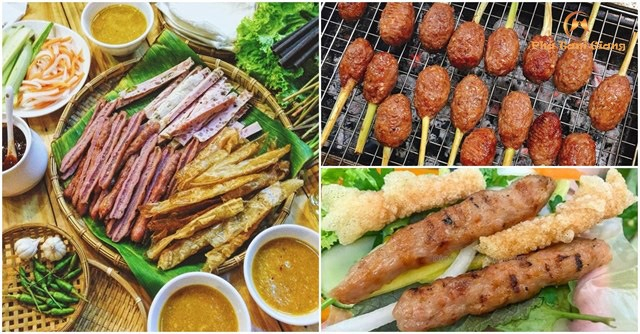 Quán Nem nướng Ngọc Nam mang đến cho thực khách kiểu nem nướng của Bình Định
