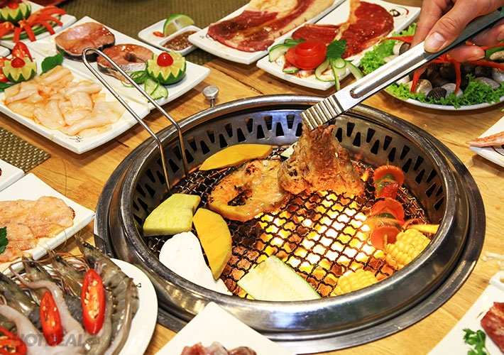 Hãy một lần đến quán nướng ZoZo để thưởng thức đồ ăn ngon tại đây
