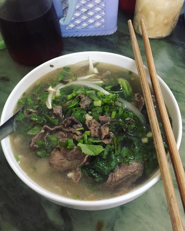 Quán phở bò Nam Định - Hoàng Minh Giám