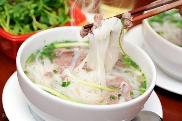 Một số món ăn tại Phở Na Thái