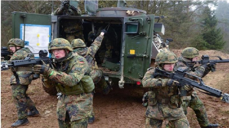 Quân phục ngụy trang của lục quân Đức