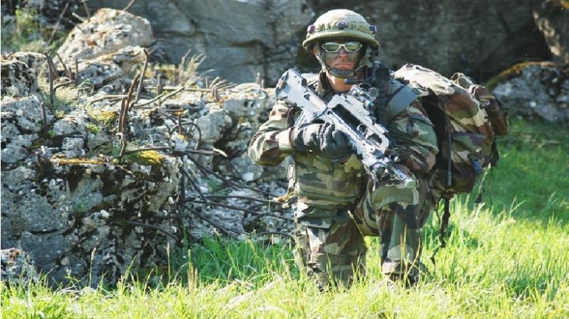 Quân phục ngụy trang của lục quân Pháp