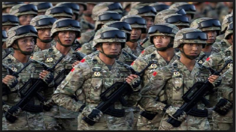 Quân phục ngụy trang của lục quân Trung Quốc