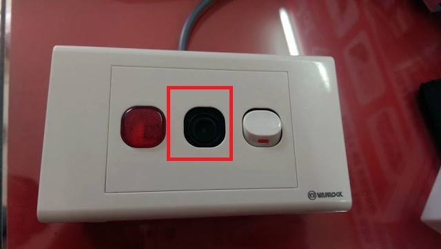 Ổ điện có chưa camera giấu kín