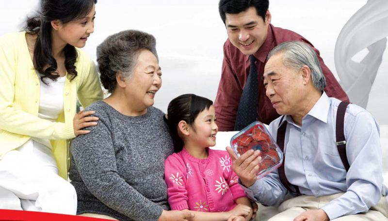 Khi yêu, anh ấy cũng sẽ thể hiện sự quan tâm tới cả gia đình bạn.
