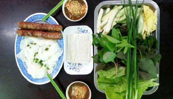 Nem nướng bánh hỏi Thanh Hương - Cà Mau