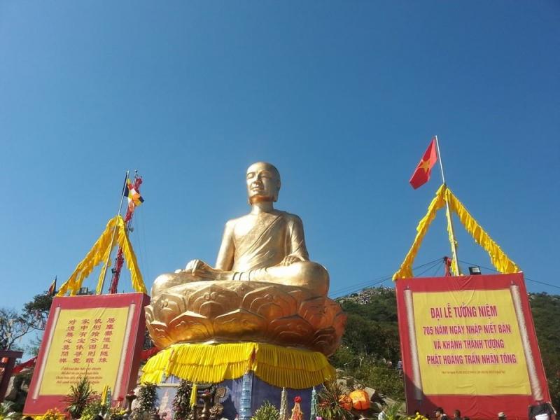 Lễ khánh thành tượng Phật hoàng Trần Nhân Tông
