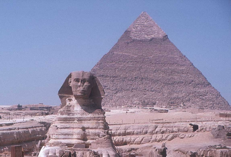 Tượng Nhân Sư Sphinx nổi tiếng với những câu đố bí ẩn