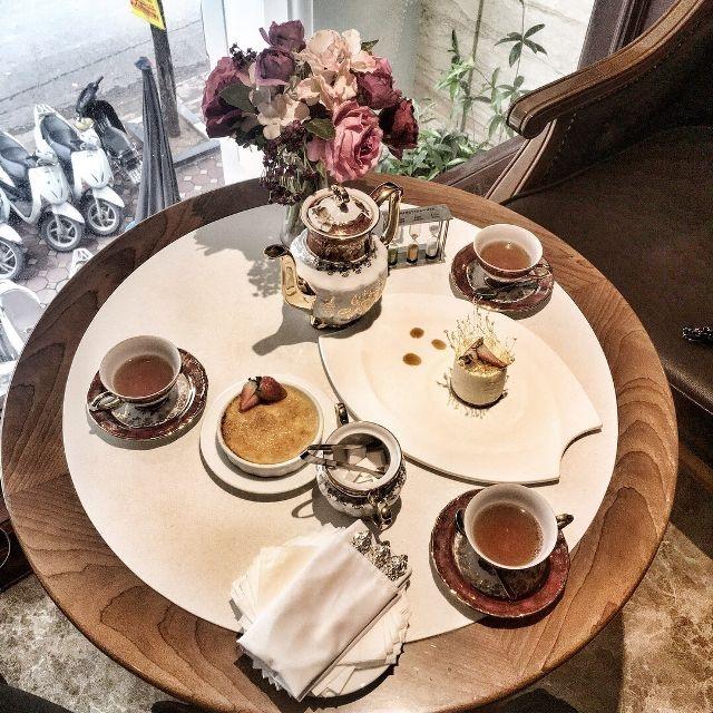 Top 10 quán trà chiều sang chảnh đep nhất Hà Nội