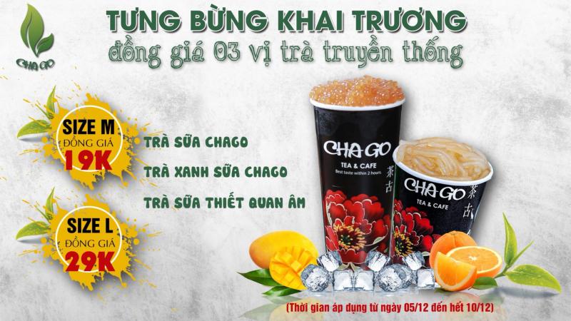 Quán trà sữa Chago