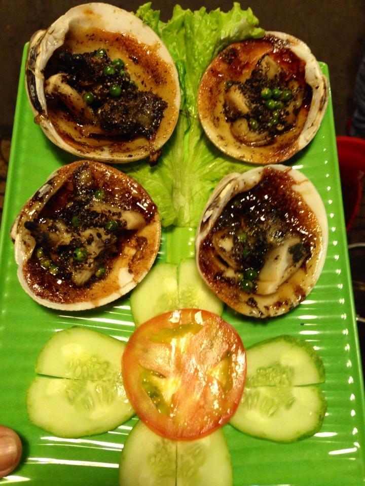 Món ăn tại Trọc Nướng được trình bày đẹp mắt