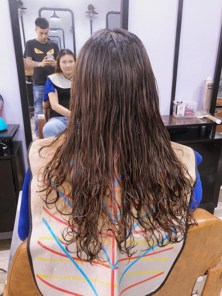 Không gian làm đẹp của Quang Hiệp hair Salon.