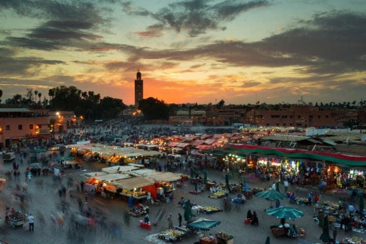 Quảng trường Jamaa El Fna