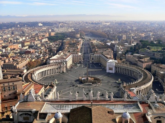 Quốc gia nhỏ nhất thế giới-vatican.