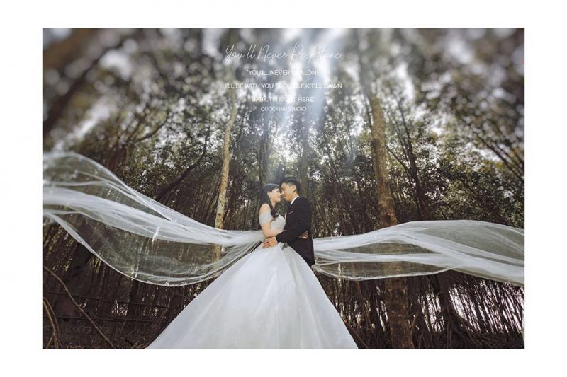 Ảnh cưới tại Quốc Khái Studio