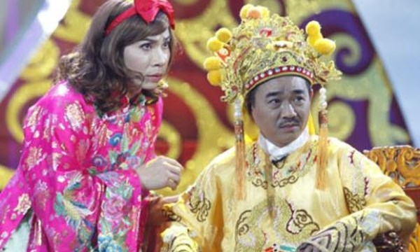 Quốc Khánh trong vai diễn Ngọc Hoàng