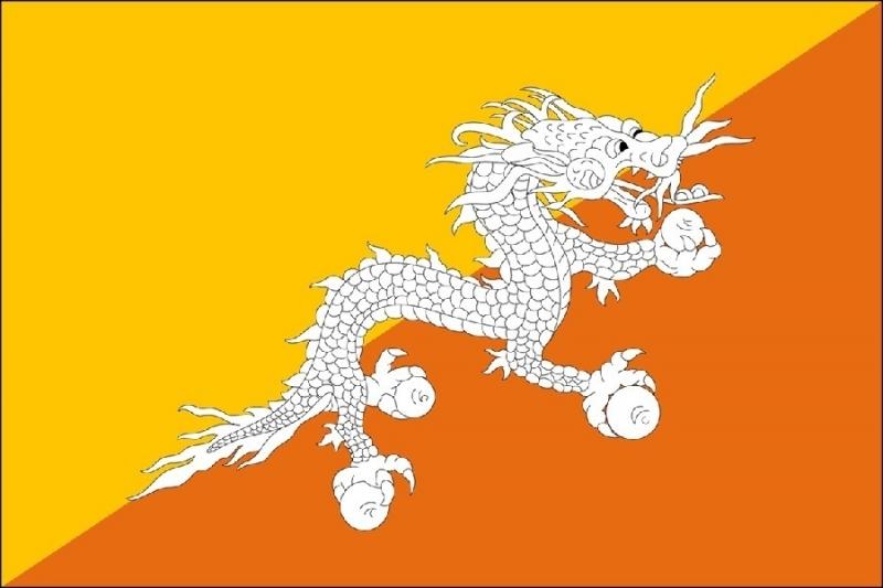Lá quốc kì đặc biệt của Bhutan ẩn chứa rất nhiều ý nghĩa.