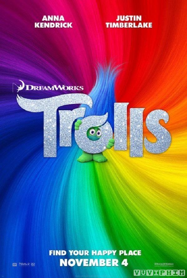 Quỷ lùn tinh nghich: Trolls