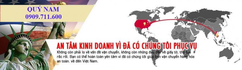 QUÝ NAM – Mua hộ và vận chuyển hàng quốc tế về Việt Nam