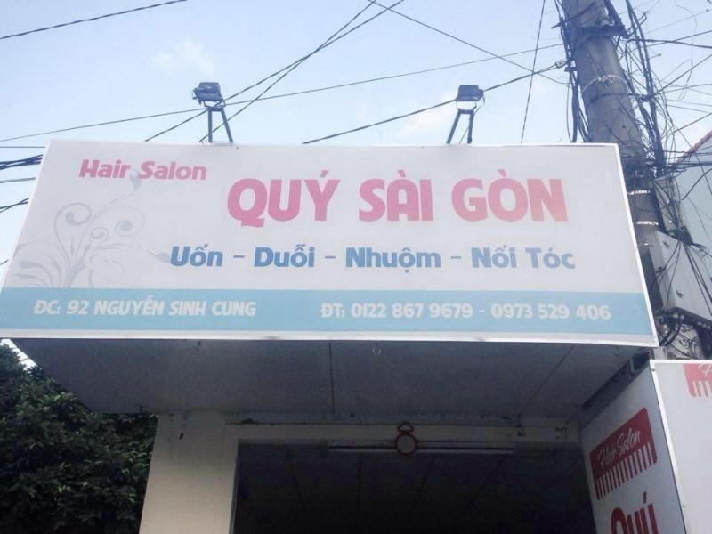 Quý Sài Gòn - uốn - duỗi - nhuộm - nối tóc