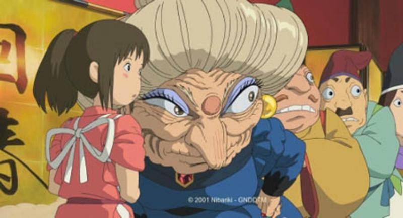 Yubaba thường gây khó dễ cho cô với các công việc khó.