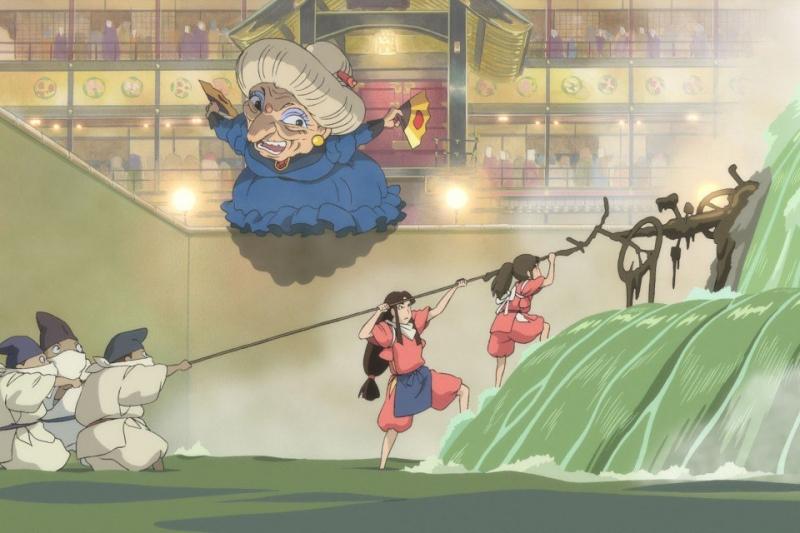 Chihiro giúp thần sông tẩy
