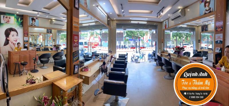 Quỳnh Anh Salon là một trong những địa chỉ tin cậy trong việc tạo hình mái tóc của bạn.