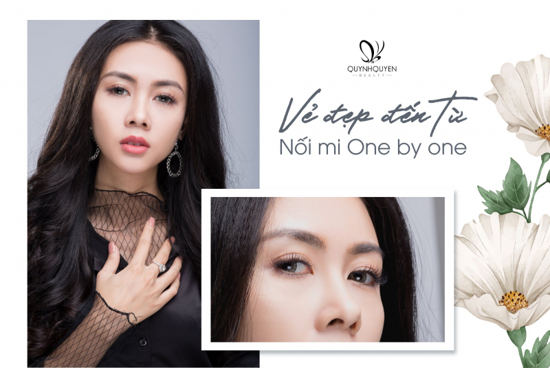 Nối mi One by one tại QuynhQuyen Beauty Center