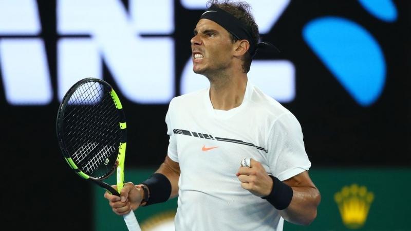 Nadal đã trở lại đầy mạnh mẽ ở giải Úc mở rộng