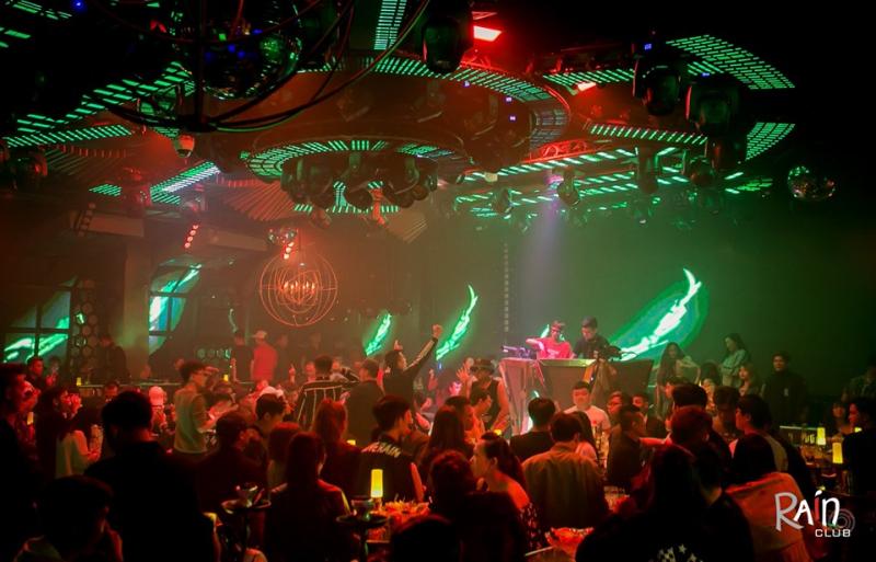 Rain Nightclub Dalat với không khí sôi động hàng đêm