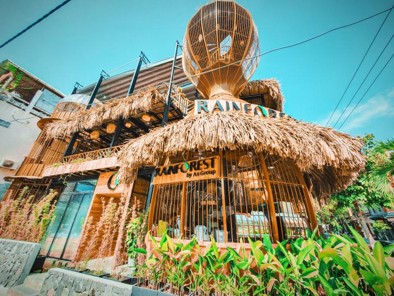 Rainforest Da Nang - Cà phê tổ chim