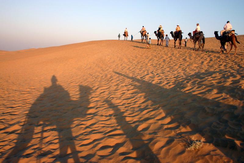 Rajasthan được xem là vùng đất của những vị hoàng đế và sắc màu