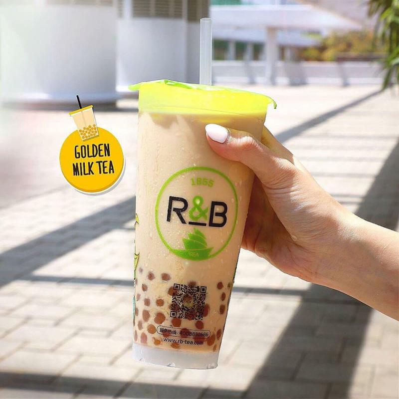 R&B Tea là một thương hiệu trà sữa được nhiều thực khách ưa chuộng và phủ sóng rộng rãi tại Sài Gòn