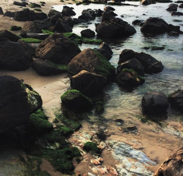 Đá tự nhiên tại Nam Ô