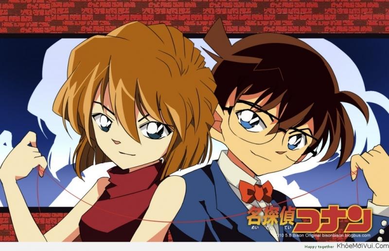 Haibara và Conan