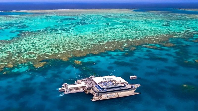 Kỳ quan thiên nhiên hùng vĩ rạn san hô Great Barrier (Great Barrier Reef)
