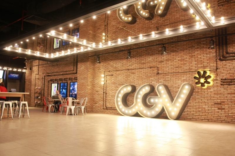CGV phát triển với nhiều hệ thống rạp chiếu phim