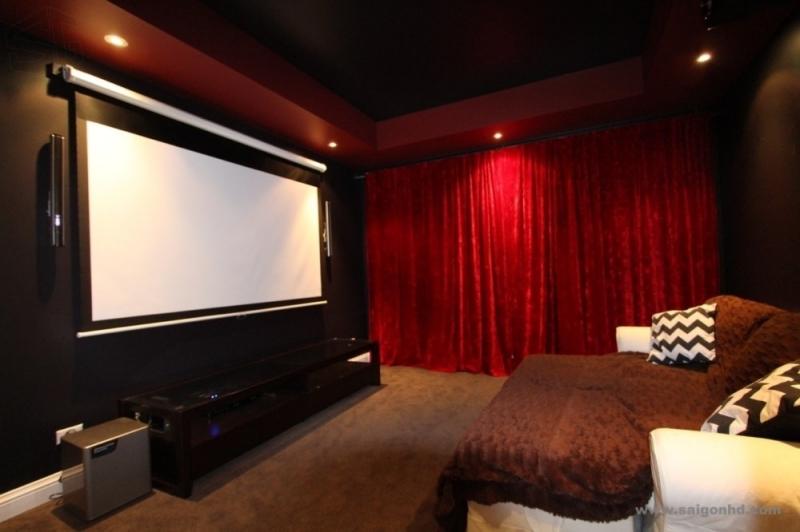 Phòng chiếu phim cho hai người