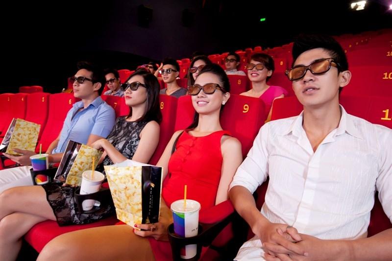 Rạp chiếu phim - địa điểm hẹn hò Valentine không thể tuyệt vời hơn