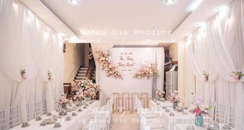 Rạp Cưới Đẹp Hà Tĩnh - Hoàng Gia Wedding