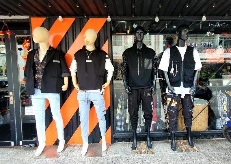 Chất phát ngất với các mẫu quần áo tại Râu Boutique